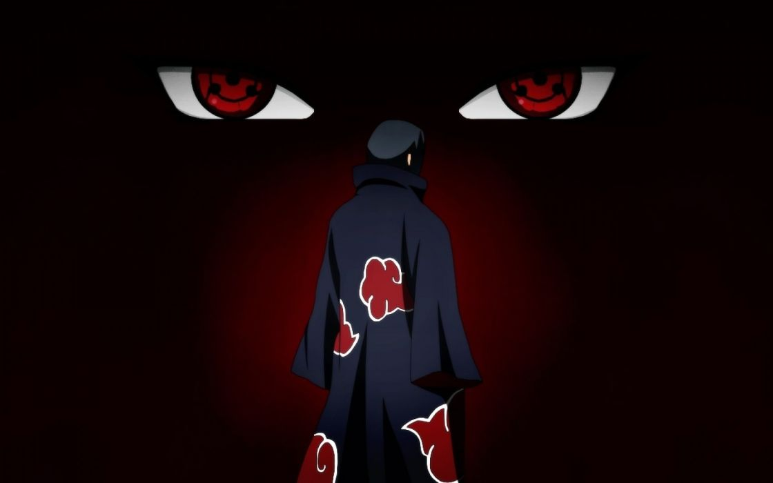 sasuke uchiha akatsuki wallpaper free desktop wallpaper