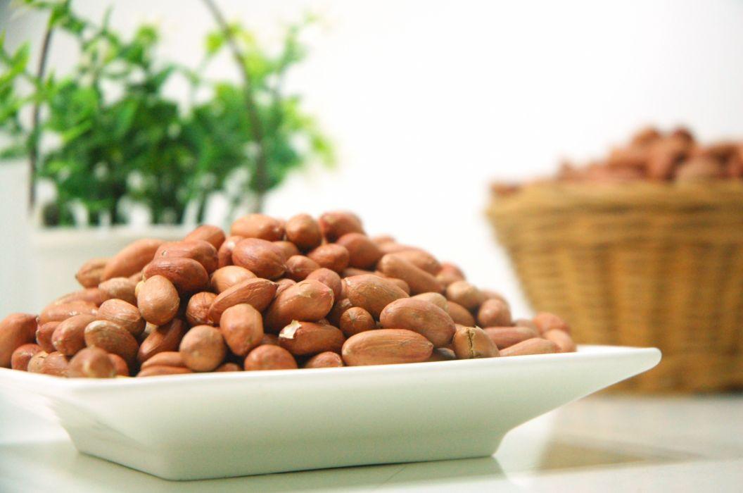 bowl food macro nuts peanuts wallpaper