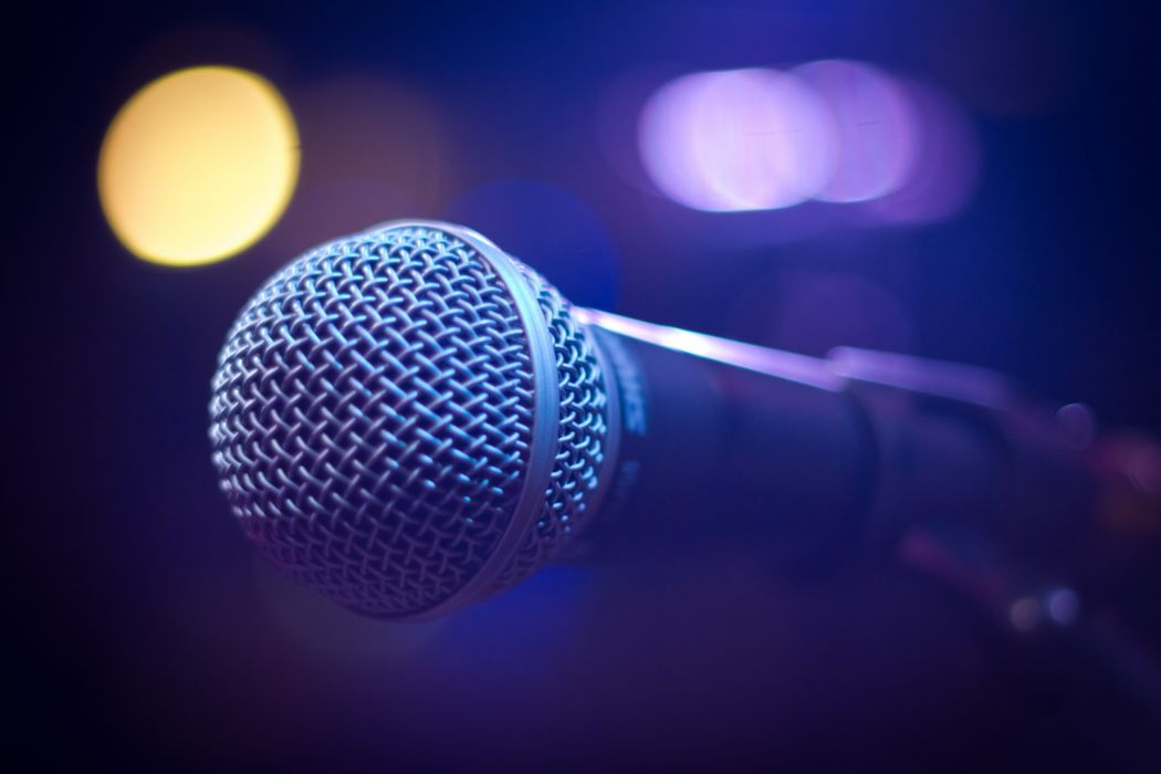 blur bokeh close up concert focus illuminated karaoke light mic microphone music nightlife sound wallpaper