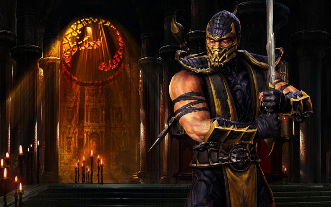 Mortal Kombat action arena arts fighting kung martial seven warrior fantasy wallpaper