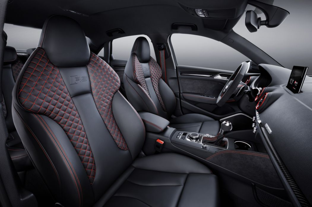 Audi RS3 Sedan 8V MkII 2016 wallpaper