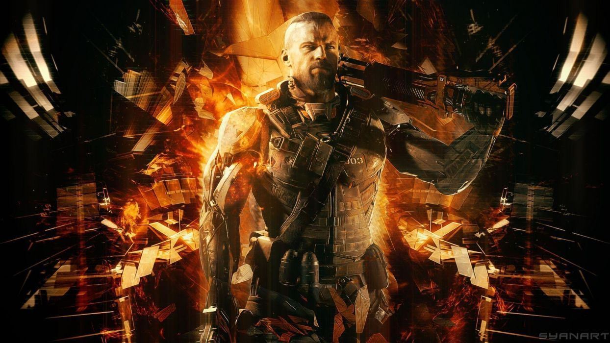 CALL Of DUTY action fighting futuristic military sci-fi shooter soldier war warrior wallpaper