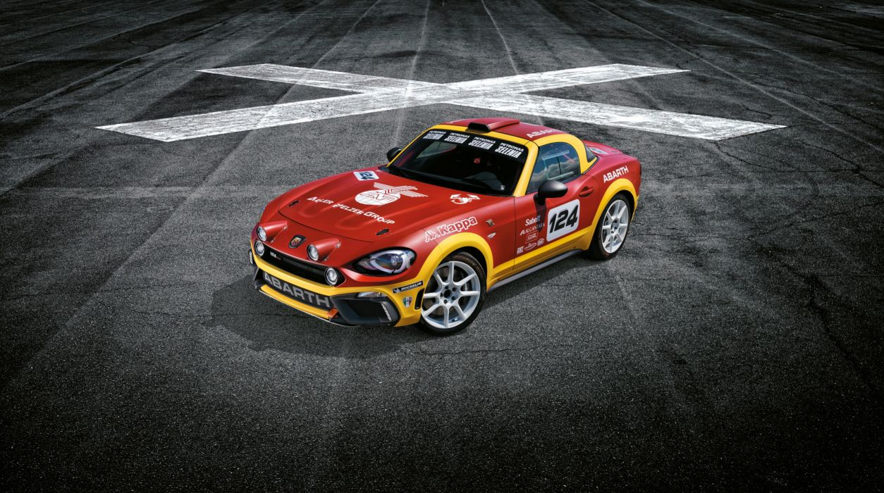 Abarth 124 Rally Concept 2016 wallpaper