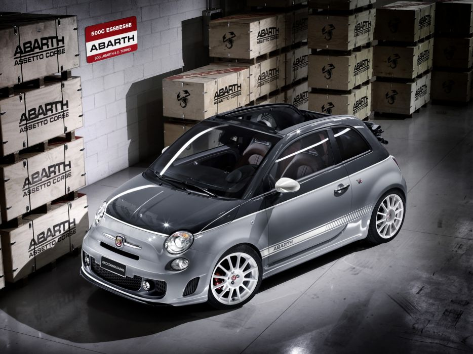 Abarth 500C Esseesse 2010 wallpaper
