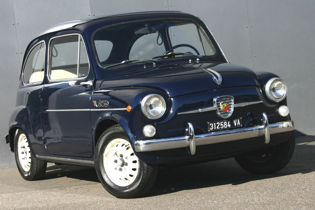 Abarth 850 TC 1961 wallpaper