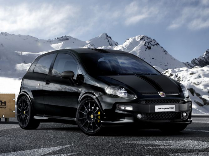 Abarth Punto Scorpione 2012 wallpaper