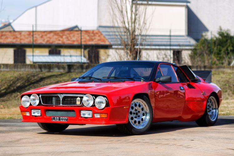 Abarth Lancia SE037 1980 wallpaper