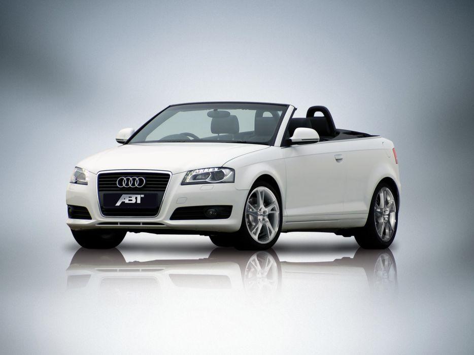 ABT Audi A3 Cabriolet 2008 wallpaper