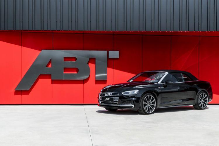 ABT Audi A5 Cabriolet 2017 wallpaper