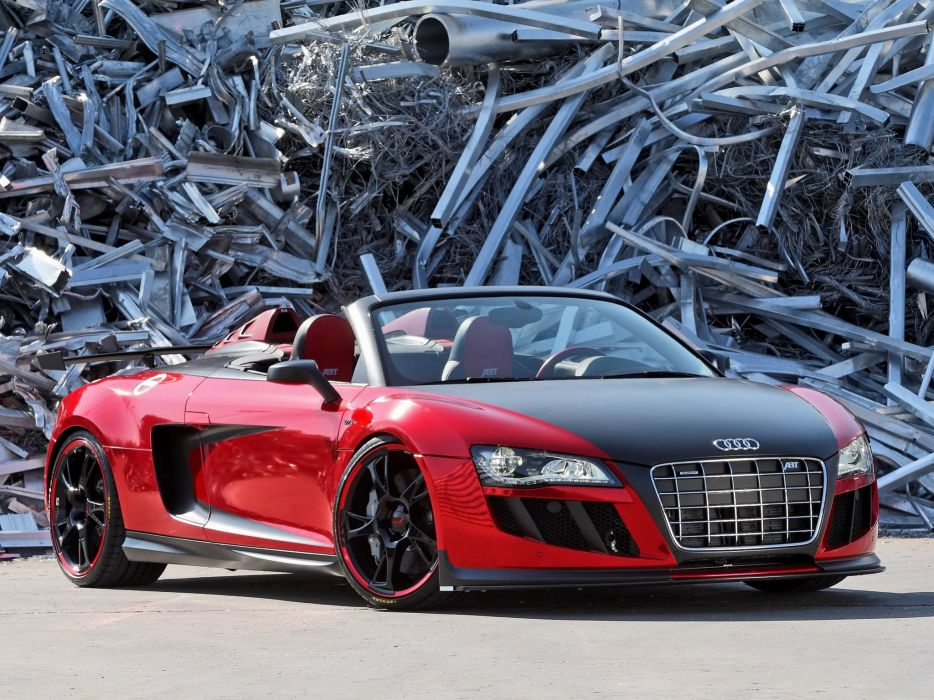 ABT Audi R8 GTS Spyder 2011 wallpaper