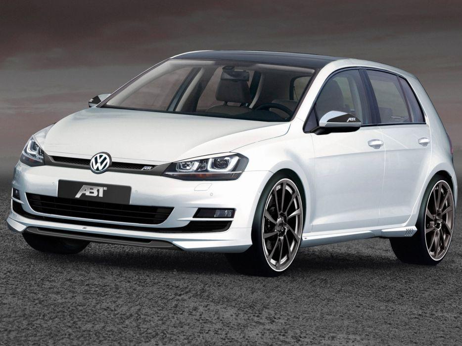 ABT Volkswagen Golf 5-door 2012 wallpaper