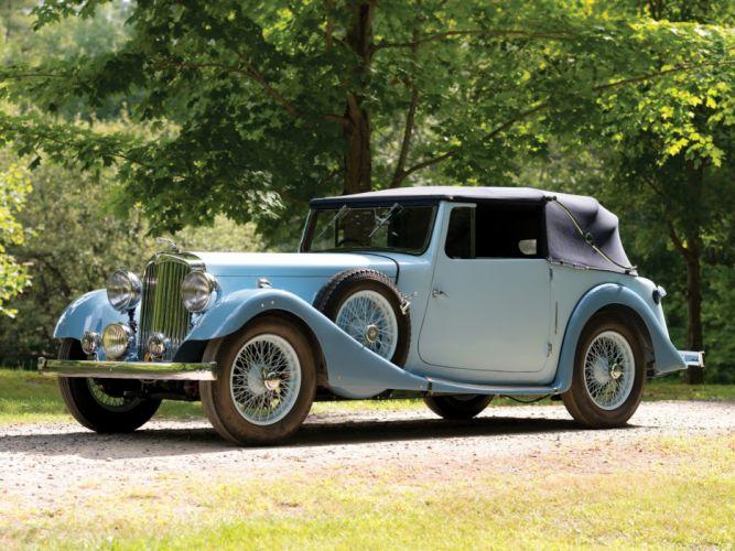 AC Six 16-70 Drophead Coupe 1938 wallpaper
