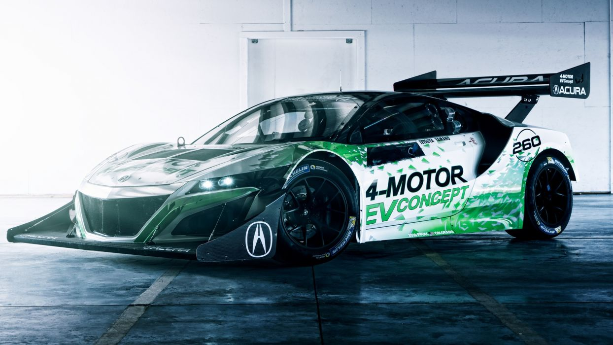 Acura NSX EV Concept 2016 wallpaper