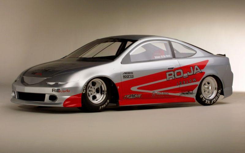 Acura RSX Pro Drag Car 2002 wallpaper