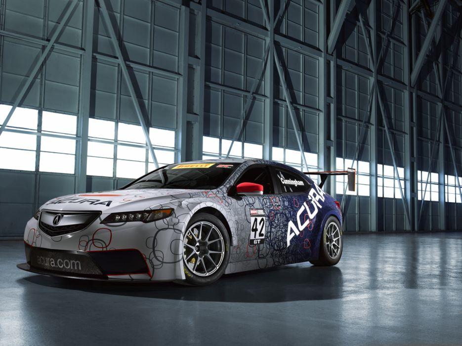 Acura TLX GT Race Car 2015 wallpaper