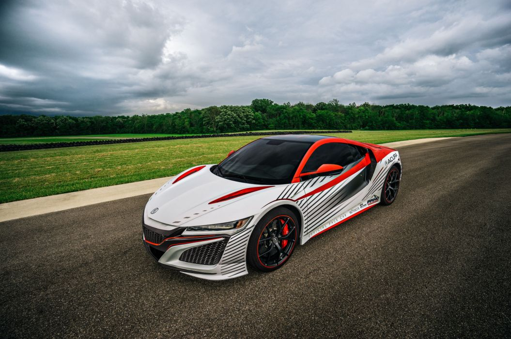 Acura NSX Pikes Peak Pace Car 2016 wallpaper
