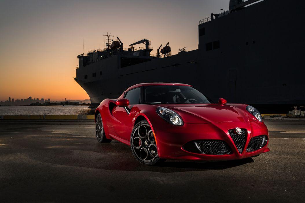 Alfa Romeo 4C 2015 wallpaper