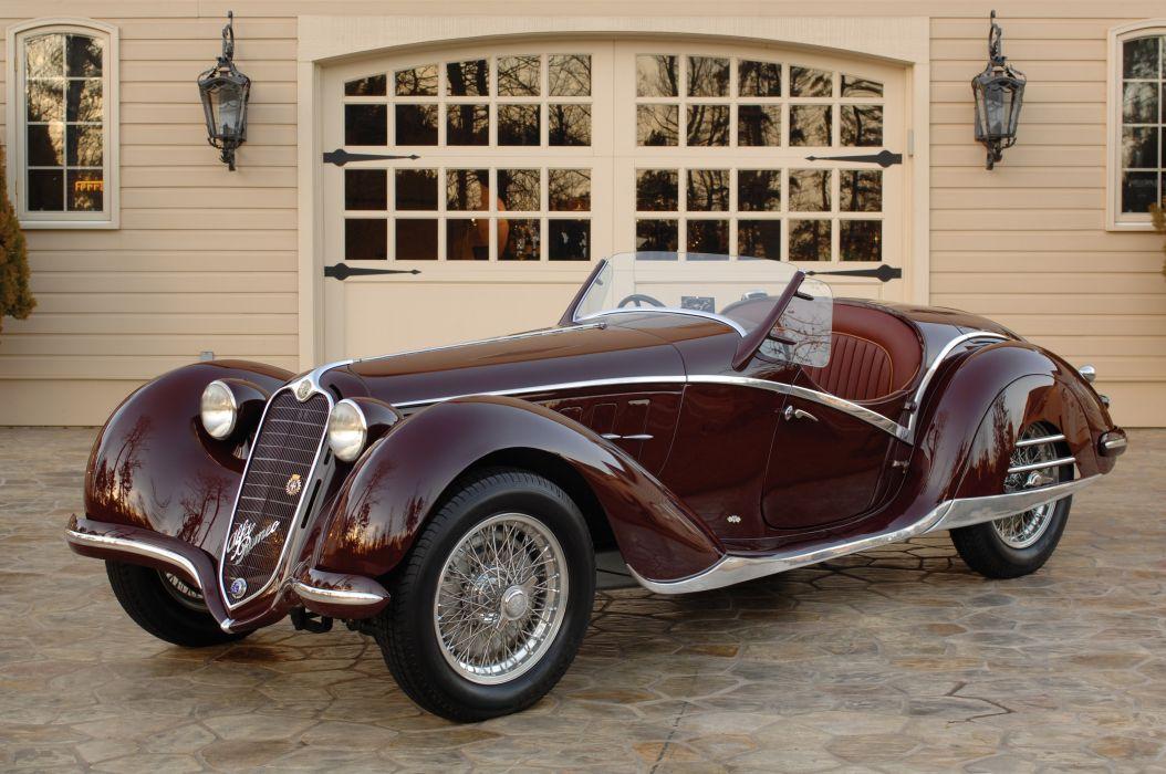 Alfa Romeo 6C 2300B Corto Spyder 1939 wallpaper