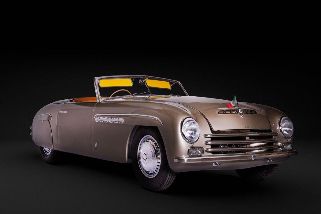 Alfa Romeo 6C 2500S Pininfarina Cabriolet 1946 wallpaper