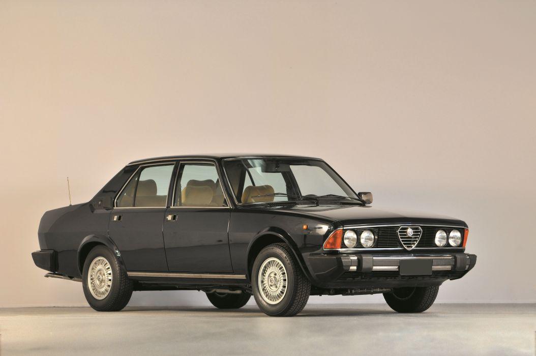 Alfa Romeo 6 Berline 1983 wallpaper