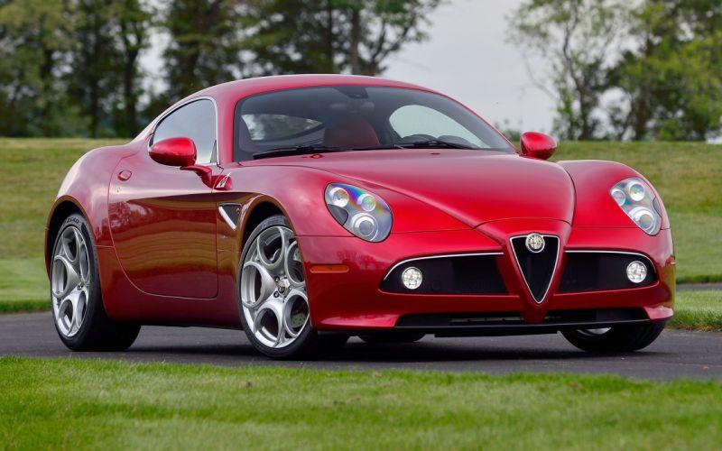 Alfa Romeo 8C Competizione 2008 wallpaper