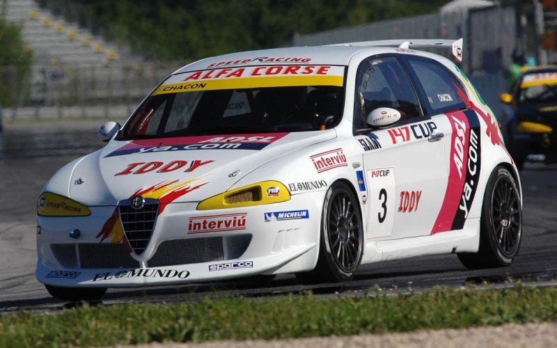 Alfa Romeo 147 Cup 2006 wallpaper