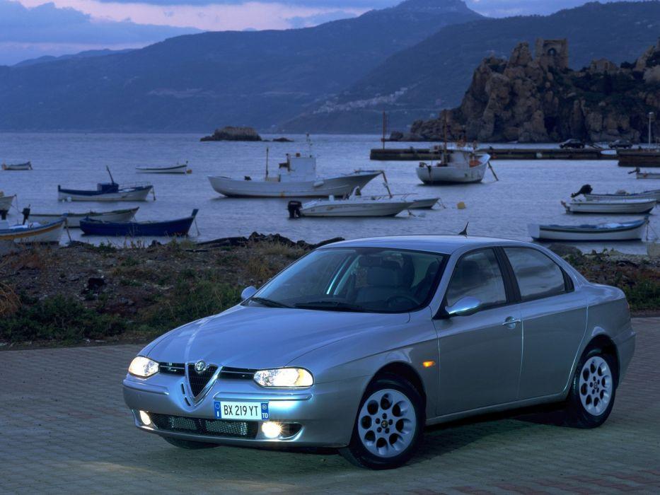 Alfa Romeo 156 1998 wallpaper