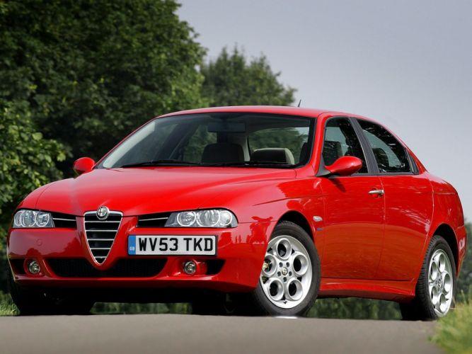 Alfa Romeo 156 2003 wallpaper