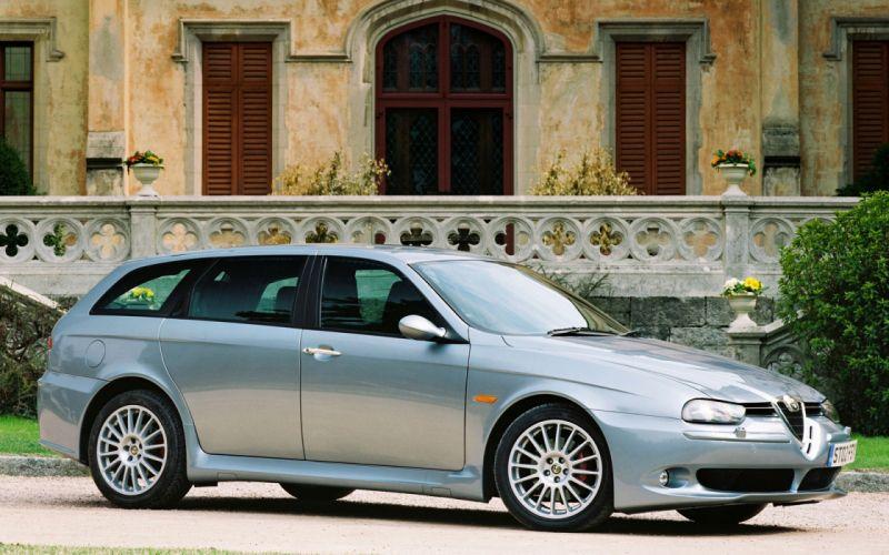 Alfa Romeo 156 Sportwagon 2001 wallpaper