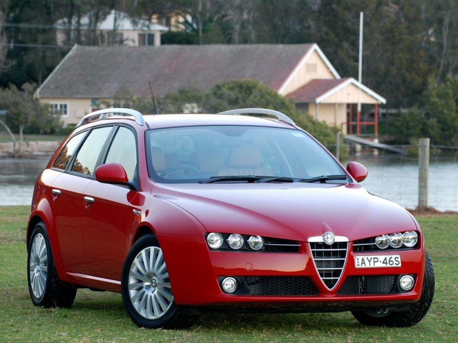 Alfa Romeo 159 Sportwagon 2006 wallpaper