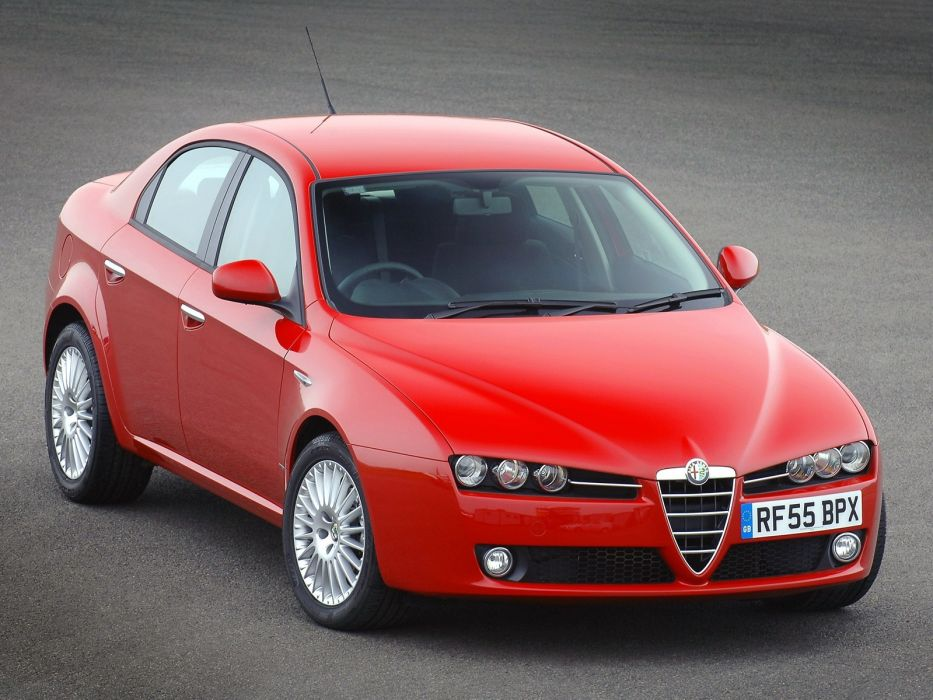 Alfa Romeo 159 2005 wallpaper
