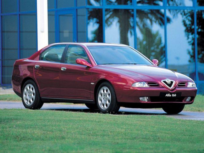 Alfa Romeo 166 1998 wallpaper
