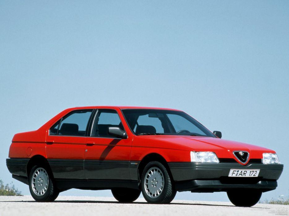 Alfa Romeo 164 1987 wallpaper