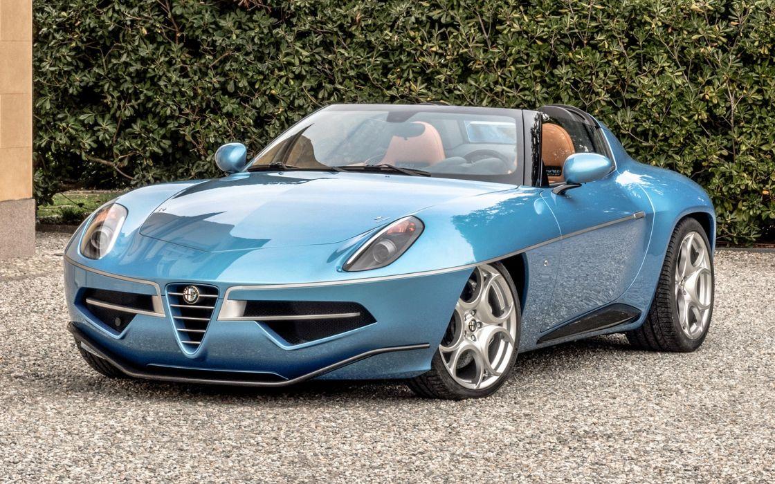 Alfa Romeo Disco Volante Spyder 2016 wallpaper