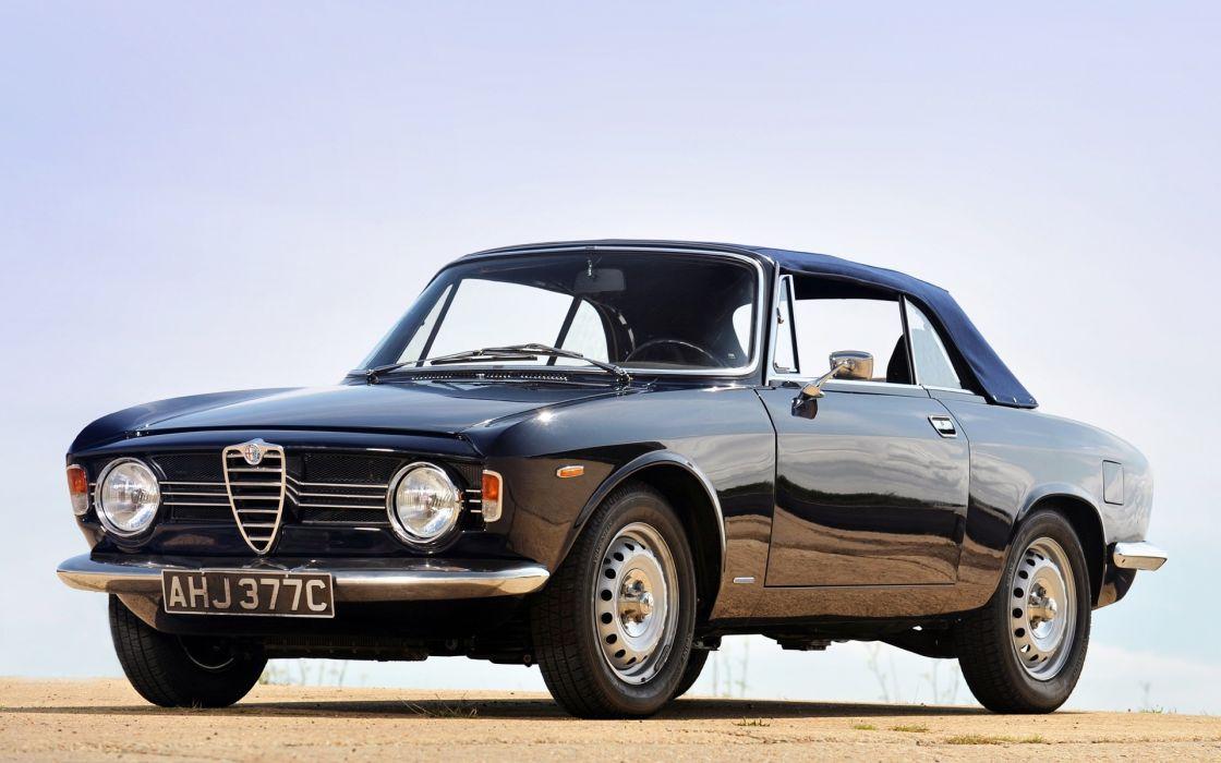 Alfa Romeo Giulia Sprint 1964 wallpaper