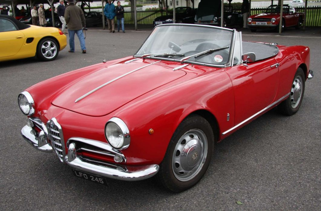 Alfa Romeo Giulietta 750-101 1961 wallpaper
