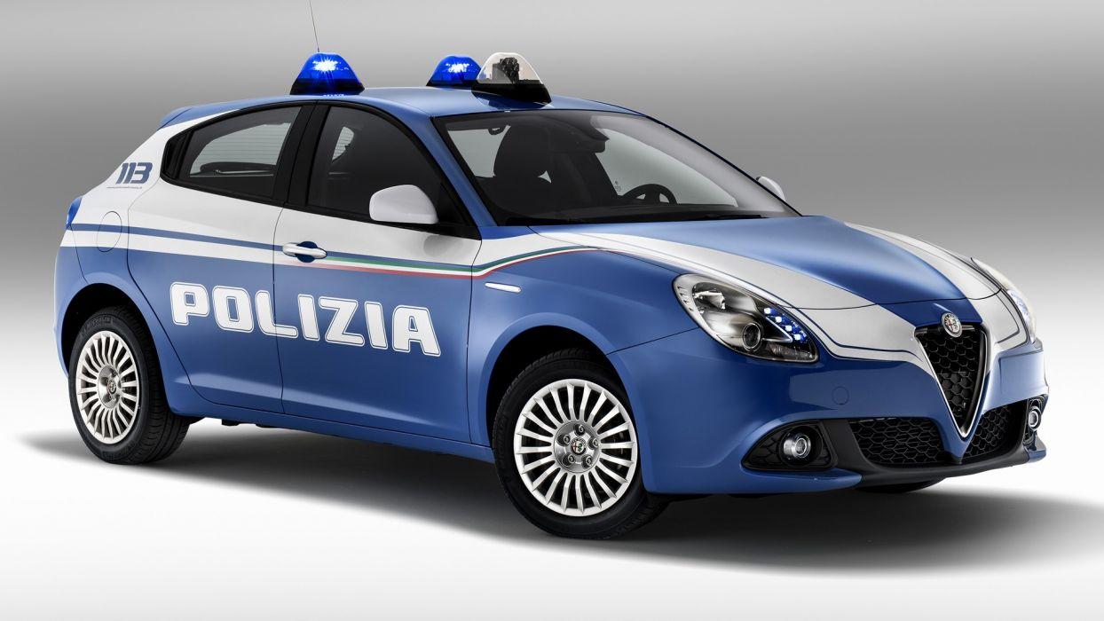 Alfa Romeo Giulietta Polizia 2016 wallpaper