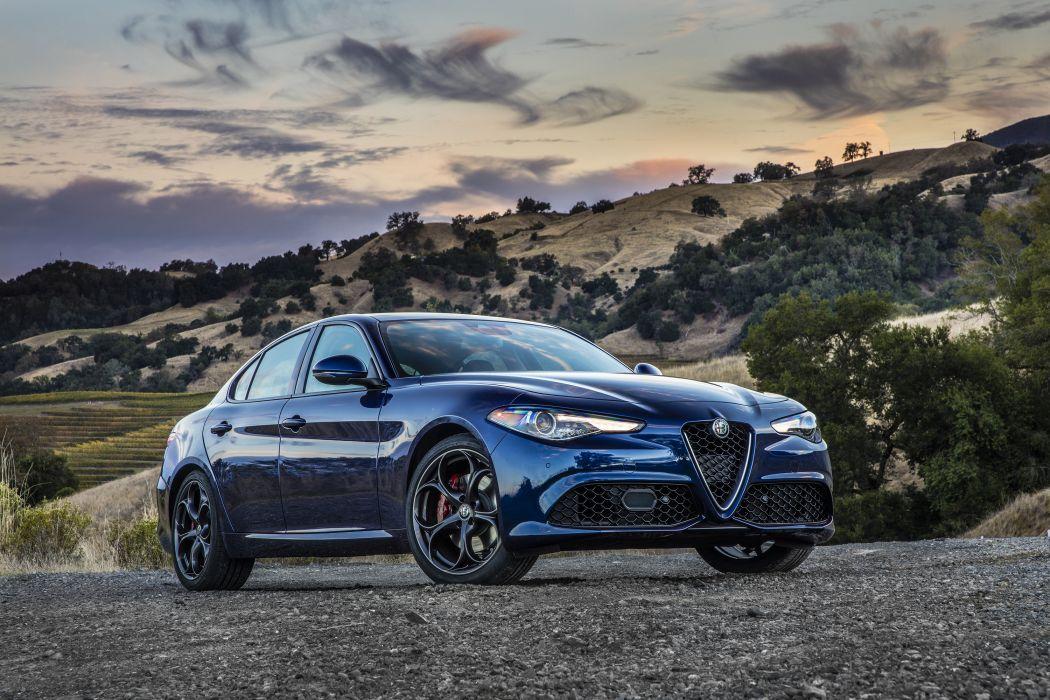 Alfa Romeo Giulia Ti 2017 wallpaper