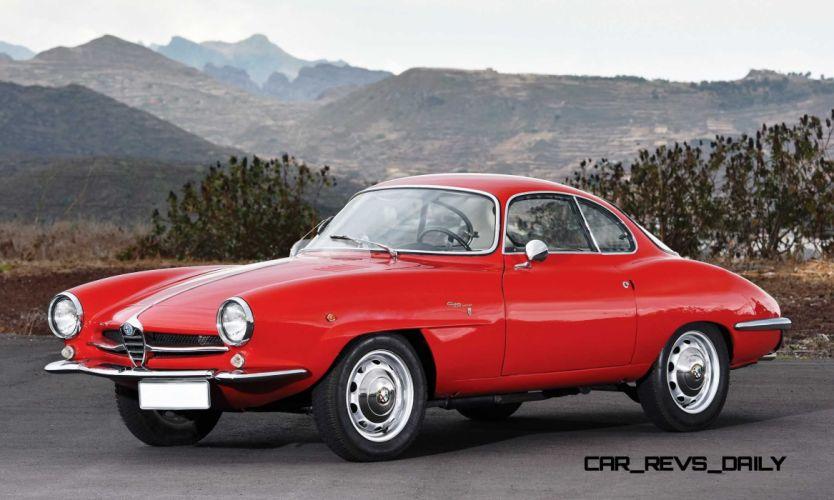 Alfa Romeo Giulietta SS 1961 wallpaper