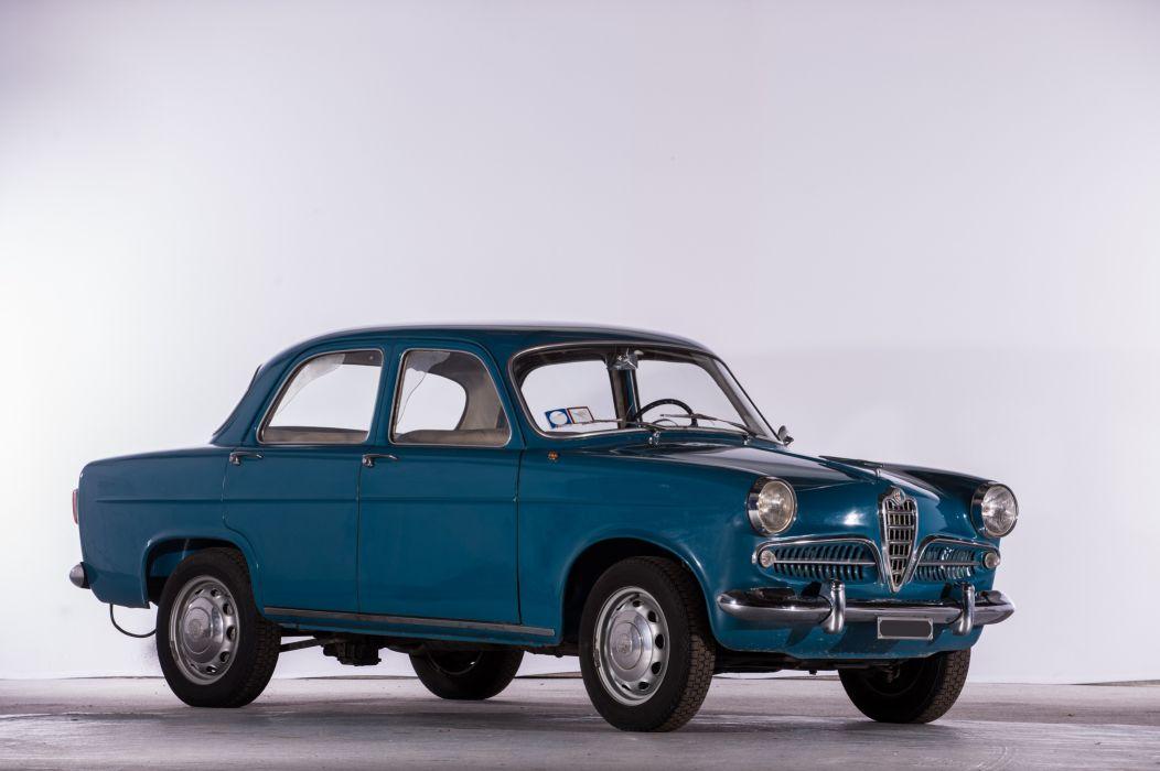 Alfa Romeo Giulietta Saloon 1959 wallpaper