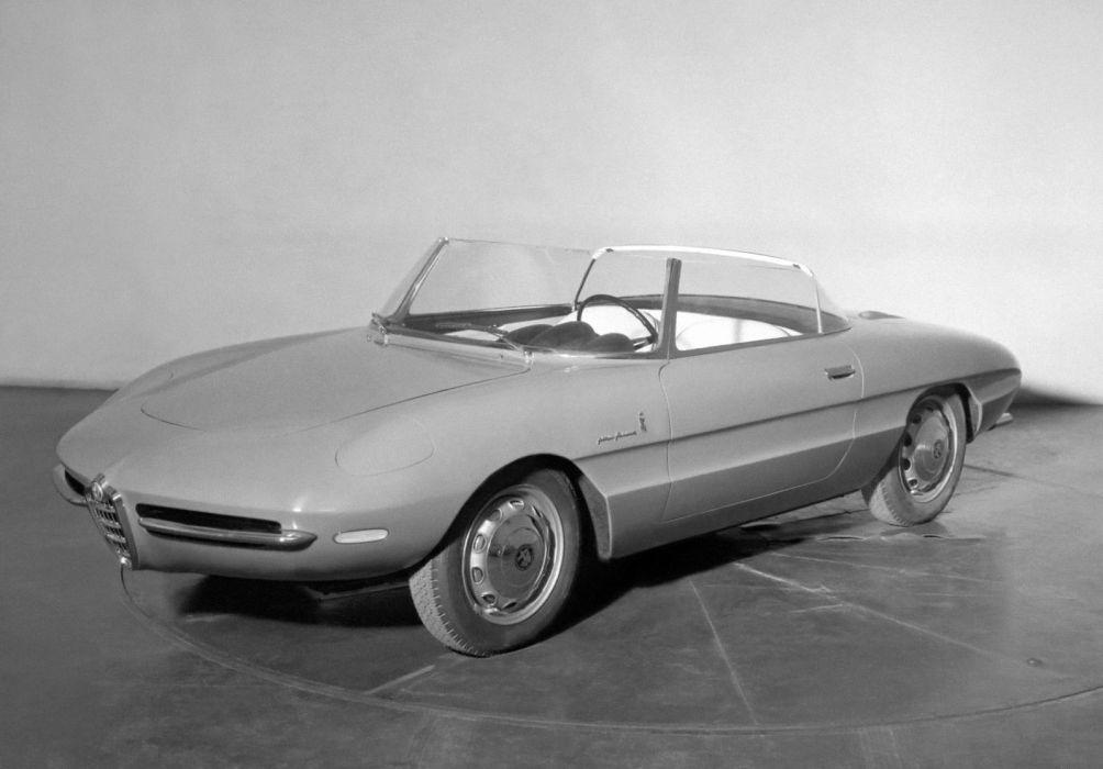 Alfa Romeo Giulietta SS Spyder Speciale Aerodinamica 1961 wallpaper