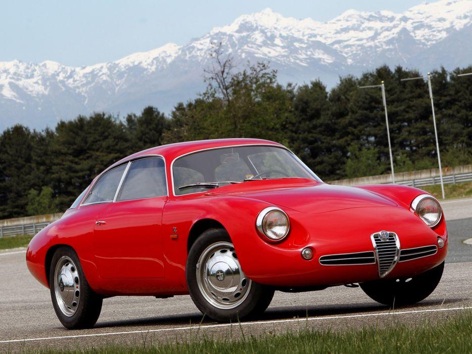 Alfa Romeo Giulietta SZ Coda Tronca 1961 wallpaper