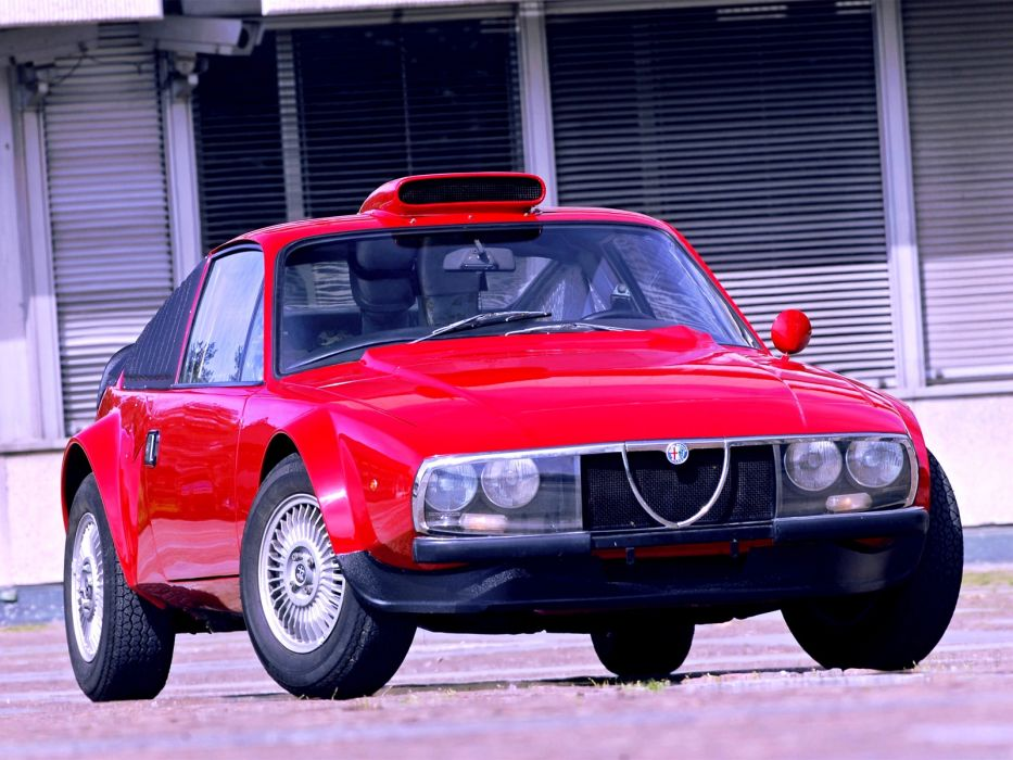 Alfa Romeo GT 2000 Junior Z Periscopica 1972 wallpaper