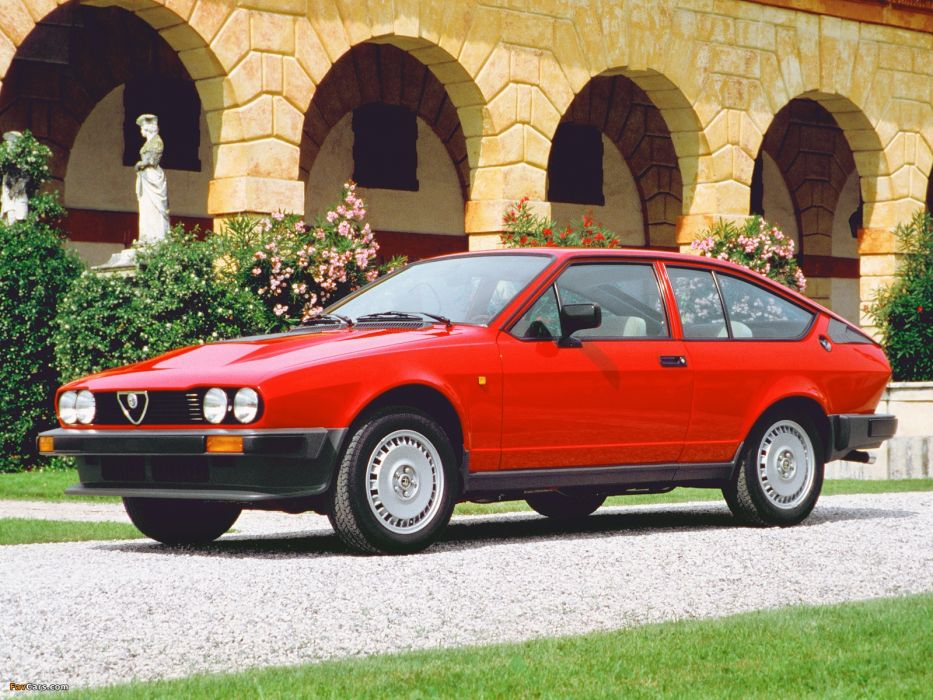 Alfa Romeo GTV 6 2 5 1980 wallpaper