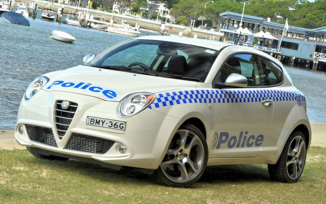 Alfa Romeo MiTo Police 2010 wallpaper