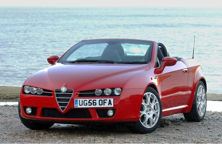 Alfa Romeo Spyder 2007 wallpaper