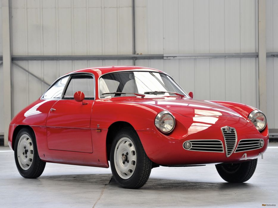 Alfa Romeo Spyder 1960 wallpaper