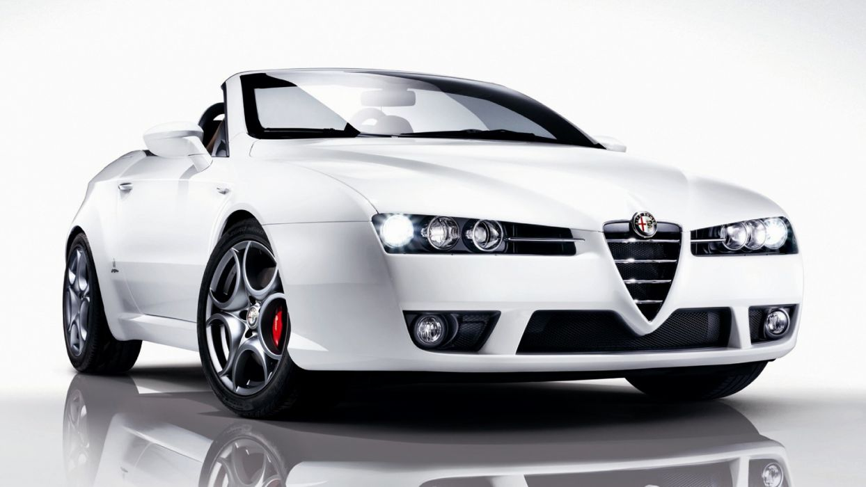 Alfa Romeo Spyder Edizione 2008 wallpaper