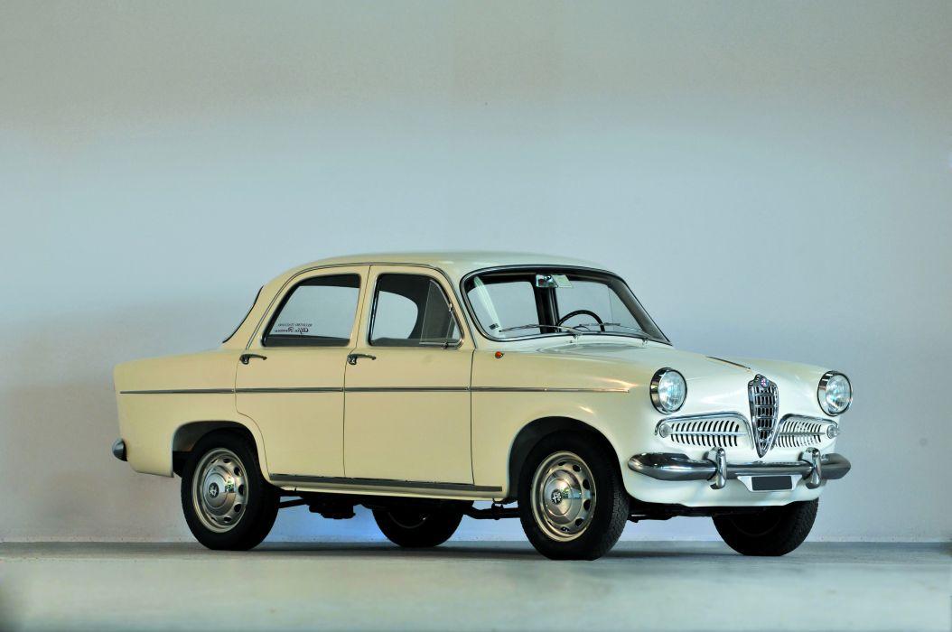 Alfa Romeo Giulietta Ti Saloon Series 1 1959 wallpaper