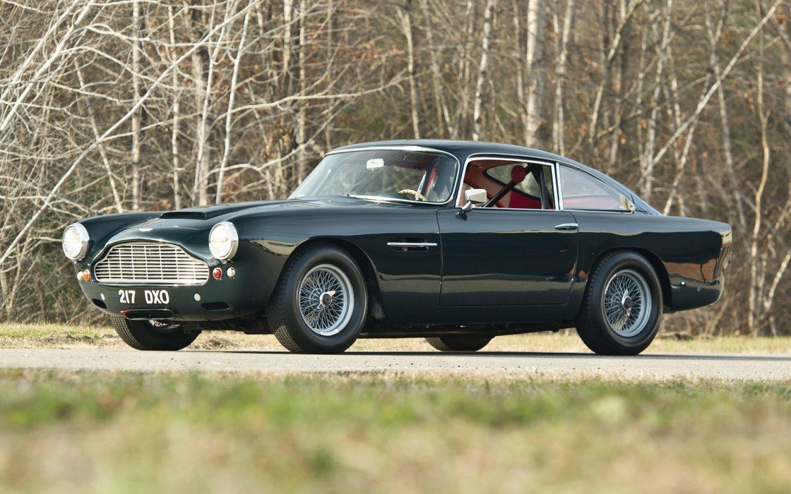 Aston Martin DB4 Lightweight Racer 1961 wallpaper